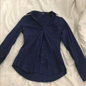 Dark blue express blouse